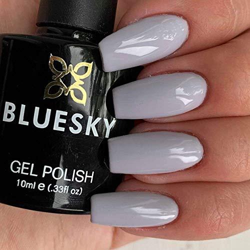 Bluesky UV-/LED-Gel-Nagellack QXG 824, limitierte Auflage, Hellgrau, 10ml