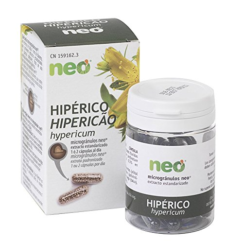NEO |Extracto de Sumidades Floridas de Hipérico | 45 Cápsu