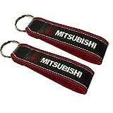 Mitsubishi cordón Llavero Doble Cara (1 Pieza)