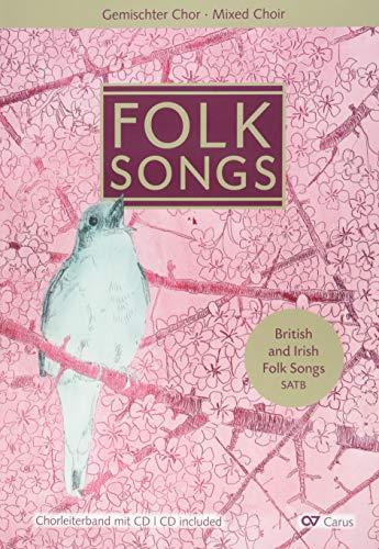 Folk Songs: Chorleiterband mit CD (LIEDERPROJEKT)