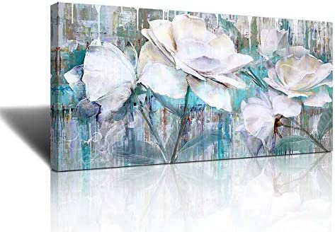 Large Wall Art for Living Room Gray Green Abstract Painting watercolor paintings for walls painting product image