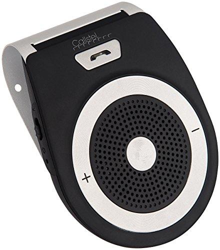 Callstel Kfz Freisprechsystem: Kfz-Freisprecher mit Bluetooth & Multipoint, Siri- & Google-kompatibel (Freisprechanlage, Bluetooth)