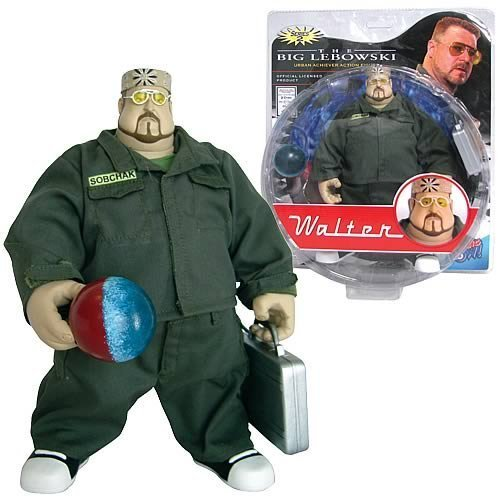 The Big Lebowski - Walter - Series 2 Figure by The Big Lebowski Urban Achiever Action Figure