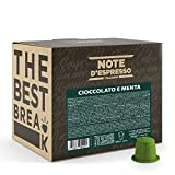 Note d'Espresso - Cápsulas de Chocolate a la Menta - Compatibles con Cafeteras Nespresso*