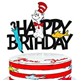 Cake Topper for Cat-in The Hat Themed Happy...
