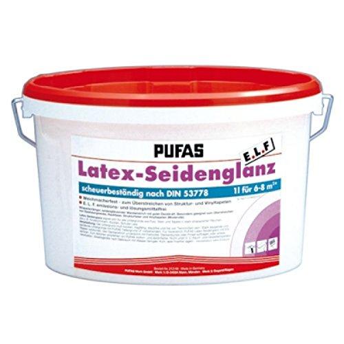 Pufas Latex-Seidenglanz E.L.F. 10L Latexfarbe seidenglänzend