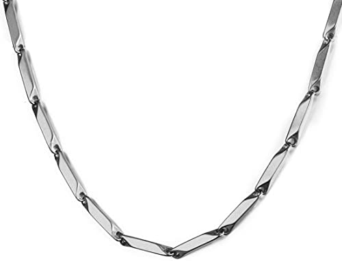 Nakabh Stainless Steel Stylish Rice Chain for Men and Boys