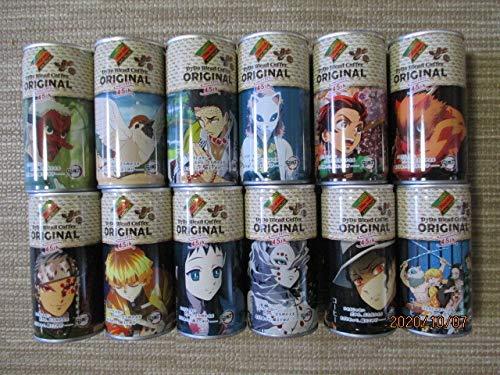 鬼滅の刃 ダイドーブレンドコーヒー缶 45周年記念缶 オリジナル 全12種コンプリート