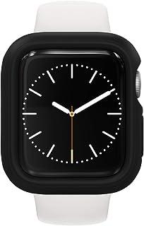 RhinoShield Apple Watch Series1/2/3 [38mm用] 保護ケース | 衝撃吸収 傷防止 スリムデザイン BPAフリー [1.2Mの耐落下衝撃] - ブラック