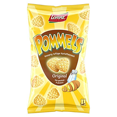 Lorenz Snack World Pommels Original, 12er Pack (12 x 75 g)