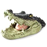 Homarden Floating Crocodile Open Mouth Head Water Decoy (13 x 6 x 6 Inches) - Garden or Pond Art...