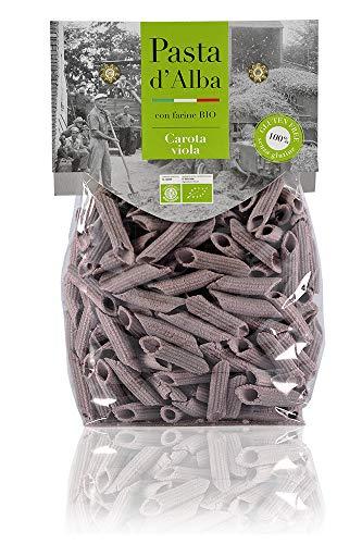 Sorghum Penne mit violetter Karotte - glutenfrei - Pasta aus Sorghum-Hirse - 250 g Bio