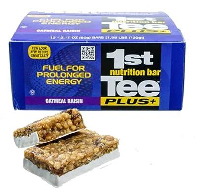 1st Tee Plus+ Oatmeal Raisin Bars