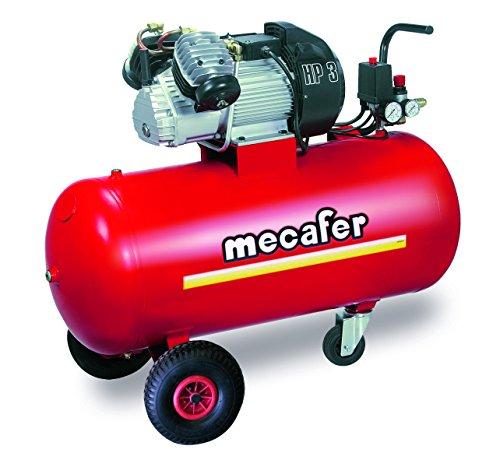 Mecafer 425186 Compresseur 100 L 3 hp Coaxial V