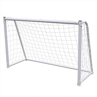 Keliour Fotboll nät fotboll mål bärbara fotbollsmål för trädgård inomhus utomhus portabelt fotbollsmål för barn fotboll tr...