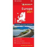 Europe 2021 - Michelin National Map 705: Maps (Michelin National Maps)