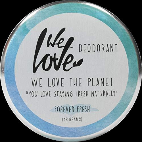 We Love The Planet Bio WLTP Forever Fresh - Crema desodorante natural (1 x 48 g)
