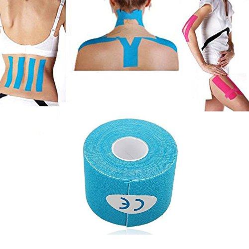 Ndier Cinta Terapéutica para Músculos Resistente al Agua Adhesivo para Alivio del Dolor