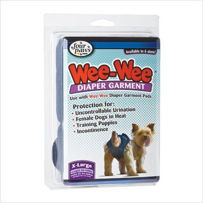 Wee-Wee Diaper Garment Size: Small (0.25