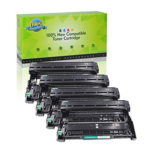 NineLeaf Compatible Drum Unit Replacement for Brother DR630 DR-630 HL-L2315DW HL-L2380D MFC-L2685DW MFC-L2740DW Printer (4 Black), Up to 12,000 Page yld -  NineLeaf Tech