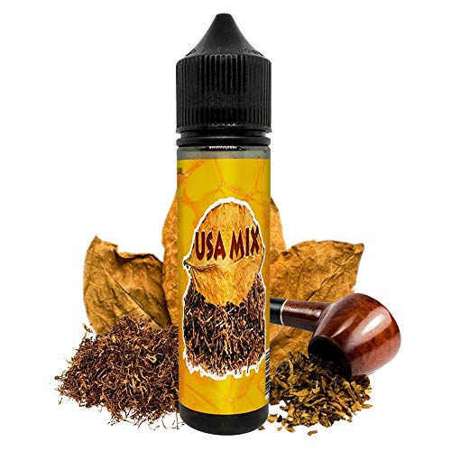 E Liquid USA Mix ElecVap   Sin Nicotina   60ml formato