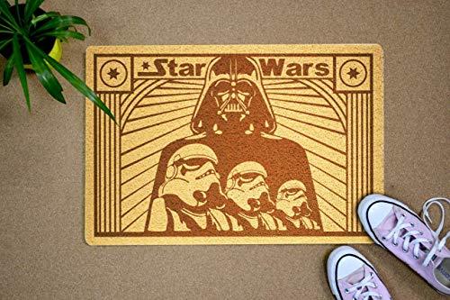 Felpudo de Star Wars con diseño de tropas de asalto de Dath Vader