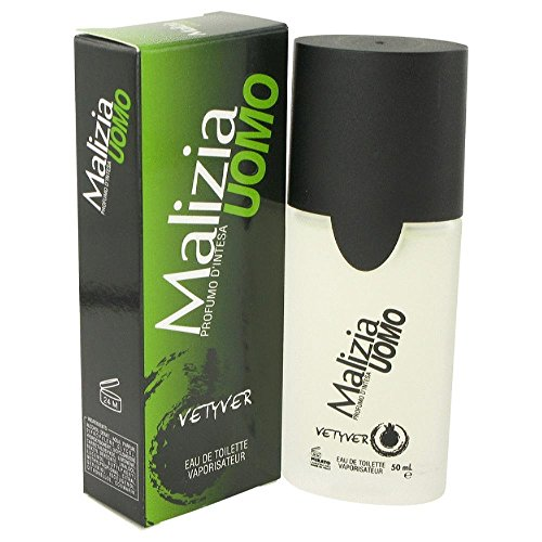 Vetyver Malizia Uomo 50ml/1.7oz Eau De Toilette Spray Cologne Fragrance for Men