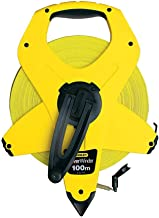Stanley Yellow Fiberglass Open Measuring & Layout Tools 100 metre, 2-34-777