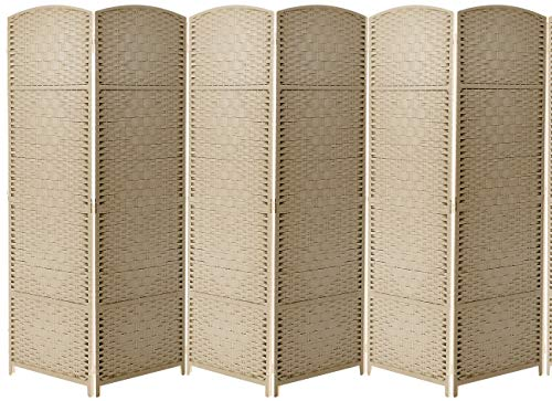 Cheap Sorbus Room Divider Privacy Screen, Foldable Panel Partition Wall Divider, Room Dividers and F...