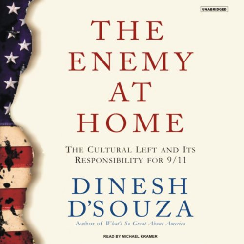 The Enemy at Home audiobook cover art