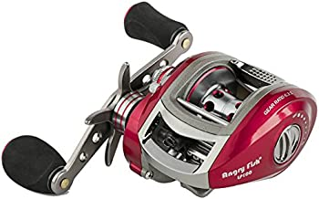 ANGRYFISH Baitcasting Reel 12+1 Ball Bearings 6.3:1 Gear Ratio Ultra Smooth Magnetic Brake System 2 Colors(Left/Right Hand)
