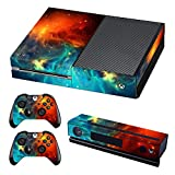 UUShop Protective Vinyl Skin Decal Cover for Microsoft Xbox One Cosmic Nebular(Upgraded)