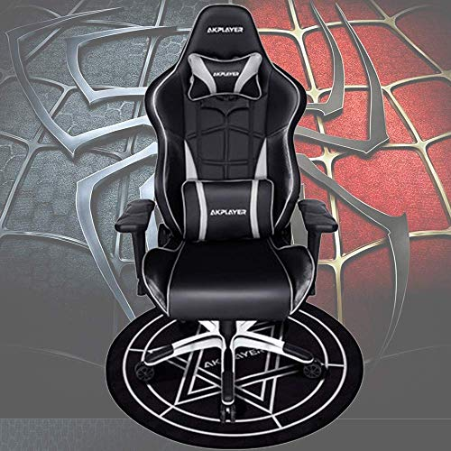 Chairs Chaises de Bureau Gaming Fauteuil D'Ordinateur Ergonomique Iron Man/Spiderman/Captain America Home Cafe Game Sièges Compétitifs Boss Carpet,Spiderman Noir