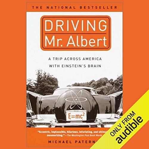 Driving Mr. Albert audiobook cover art