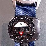 1 Pieza Pequeño Liquid Filled Clip Paracord Pulsera Reloj Bolsa Correa - Negro