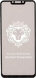 شاشة حماية زجاجية بدرجة صلابة 9 لموبايل هواوي هونر بلاي - لون اسود