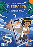 The case of the missing Cleopatra. Adventure book in augmented and virtual reality. Con gadget