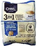 貓頭鷹即溶咖啡 Owl coffee 3-in-1 instant coffee drink mix - 30 sticks/21.1 oz