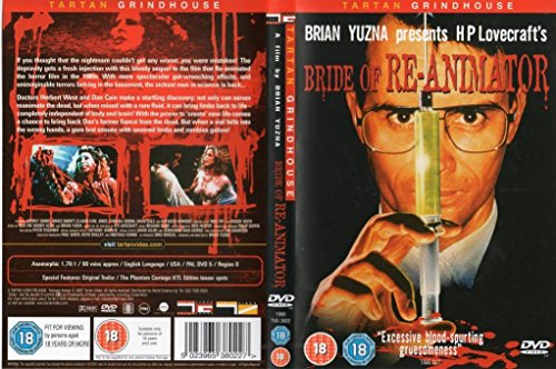 Bride of Re-Animator (Tartan Grindhouse) DVD