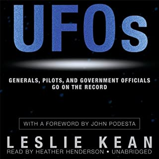 UFOs: Generals, Pilots, and Government Officials Go on the Record cover art