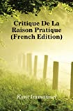 Critique De La Raison Pratique (French Edition) - Book on Demand