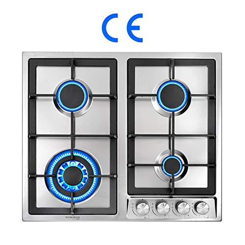 Gasland Chef GH60SF 60cm Built-in Gas Cooktop, 4 Burners...