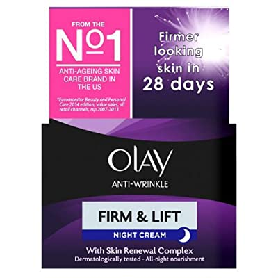 Olay Anti-Wrinkle Firm & Lift Moisturiser Night Cream 50ml Case of 2 from Olay