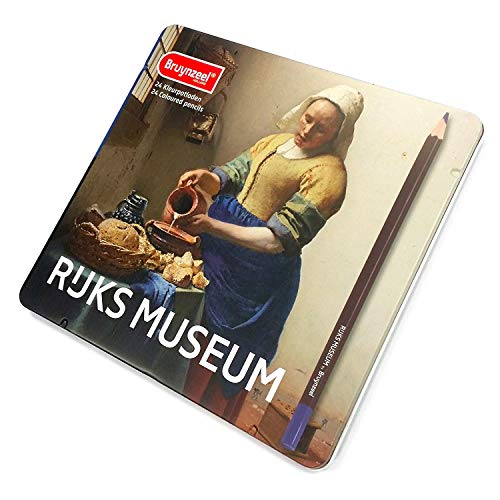 Bruynzeel – Rijks Museum Edition mit 24 Buntstiften – The Milkmaid
