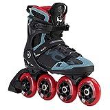 K2 Skates Herren VO2 S 90 PRO M Inline Skates, black-grey-red,...