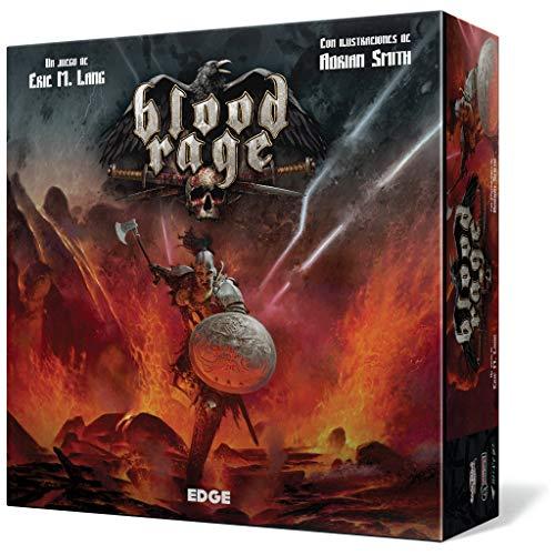 Blood Rage - Juego de mesa (Edge Entertainment EDGBLR01) , color/modelo surtido