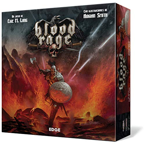 Blood Rage - Juego de mesa (Edge Entertainment EDGBLR01) , color/modelo surtido