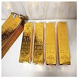 DaDong Uso antepasados lingotes de Oro para Fortalecer los Lazos con los ancestros y traer Buena Suerte y Salud Suministros Sacrificio a los antepasados 50pcs