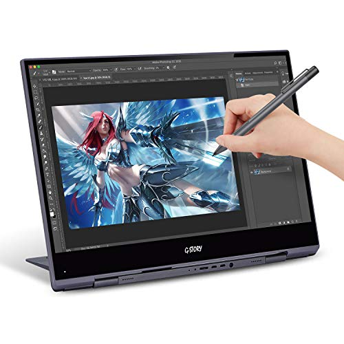 G-STORY 15.6 Inch Ultrathin Touchscreen, 4K UHD IPS Portable Display, NS Direct-Connected/Mini HDMI/Built-in Speakers/HDR/FreeSync/Type-C/60Hz/VESA Compatible