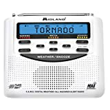 Midland - WR120, NOAA Emergency Weather Alert Radio - S.A.M.E. Localized Programming, Trilingual...